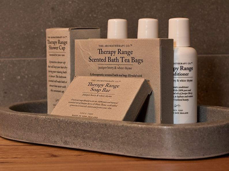 Luxury personal toiletries